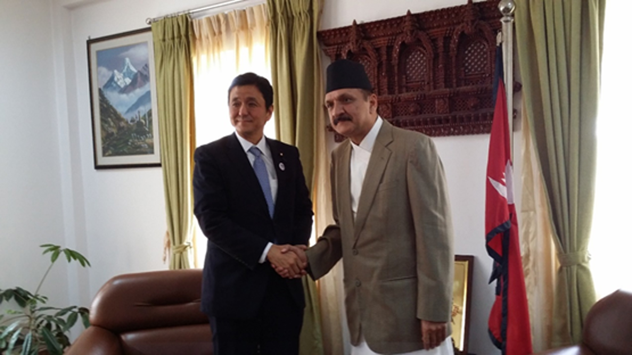 nepal and usa relationship with japan